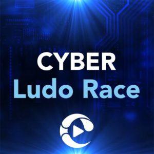 cyber ludo race logo MTT
