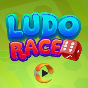 ludo race cartoon icon