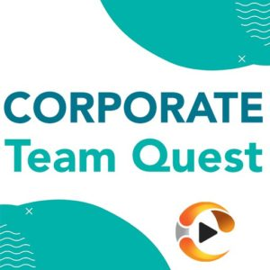 team quest corporate logo multiplayer team training